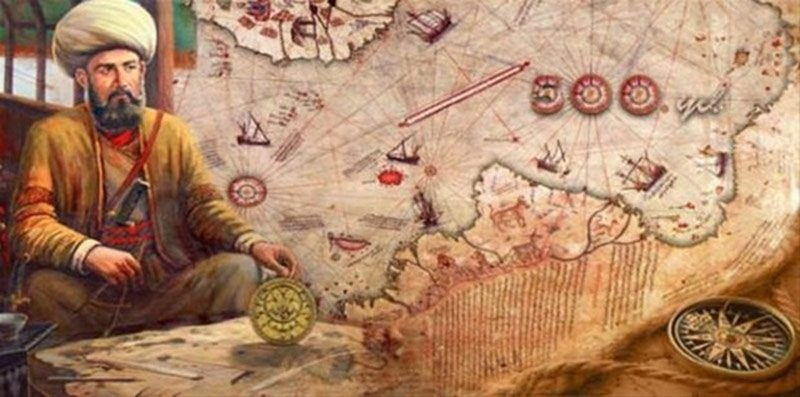 Çünkü Güney Kutbu'nun keşfi, haritanın çizilmesinden çok sonra, yani 1818'de gerçekleşmişti.