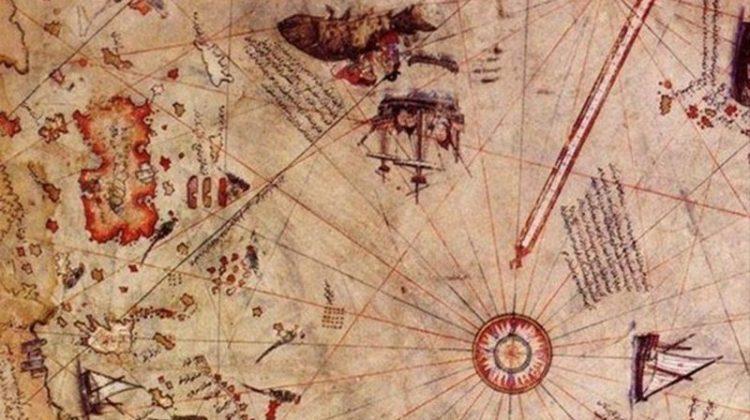 Bu madde Piri Reis'in birinci haritası hakkında bilgi vermektedir. Piri Reis 1528'de Amerika'yı gösteren ikinci bir harita yapmıştır.