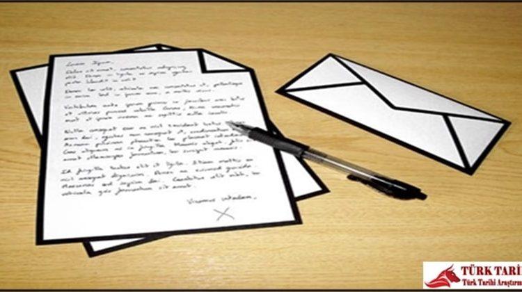 Türkçeye Mektuplar